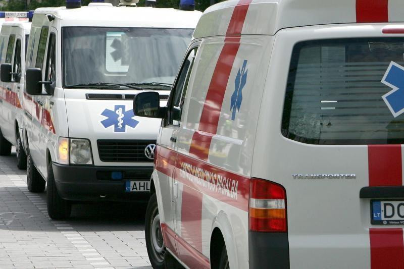 Telšiuose per avariją sužaloti trys žmonės, tarp jų teisėja su vyru