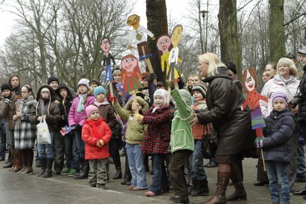 Klaipėdos mecenato gimtadienį minėjo vaikai