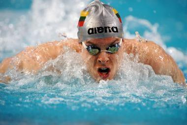 V.Janušaitis - Europos plaukimo čempionato finale