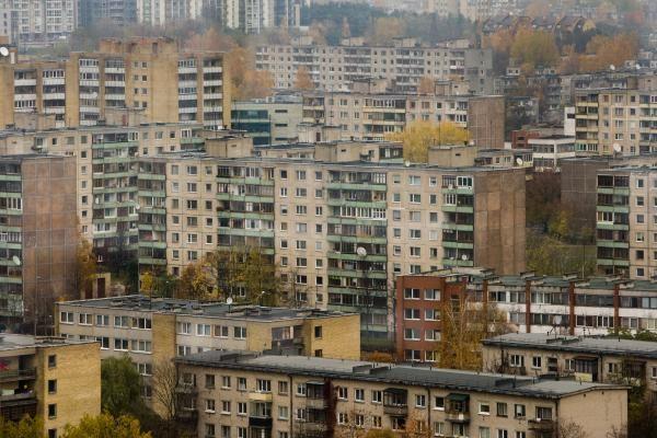 Vilniaus valdžia ketina renovuoti Žirmūnų kvartalą