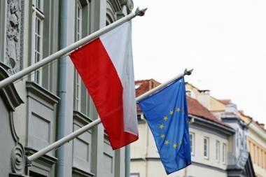 Lietuviai su lenkais labiau linkę priešintis ES sprendimams nei kiti ES naujokai