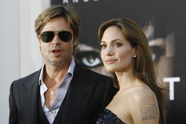 B.Pittas A.Jolie gimtadienio proga padovanojo motociklą