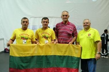 Lietuvis tapo Europos veteranų žaidynių vicečempionu