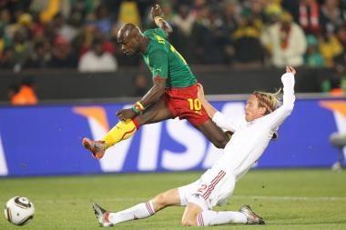 Pasaulio futbolo čempionatas: Kamerūnas - Danija 1:2