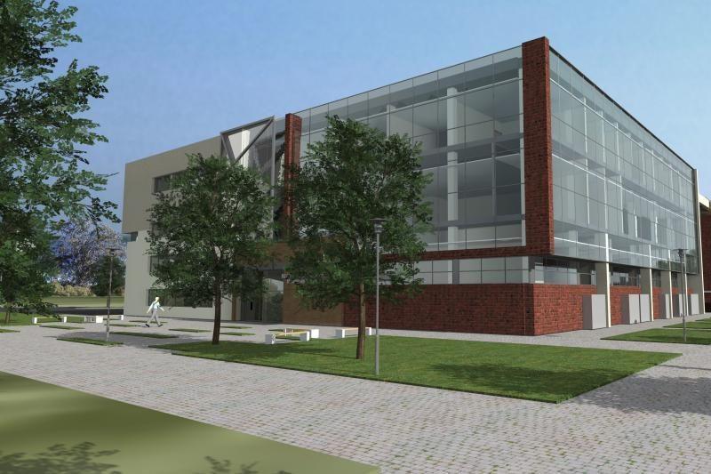 Koks bus naujasis KU miestelio mokslinių laboratorijų pastatas