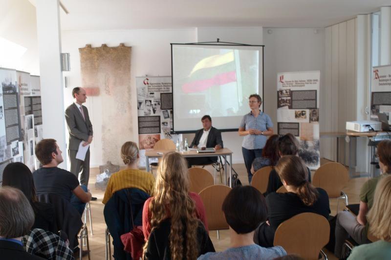 Berlyne Lietuvos kultūra buvo pristatyta lituanistikos studentams