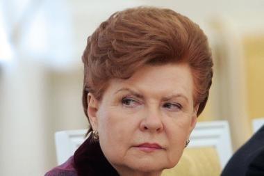 Buvusi Latvijos prezidentė nesigaili Maskvoje minėjusi gegužės 9-ąją