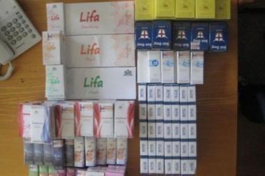 Klaipėdiečio bute - 15 rūšių kontrabandinės cigaretės