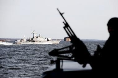 Somalio piratai užgrobė prekinį laivą su 24 įgulos nariais