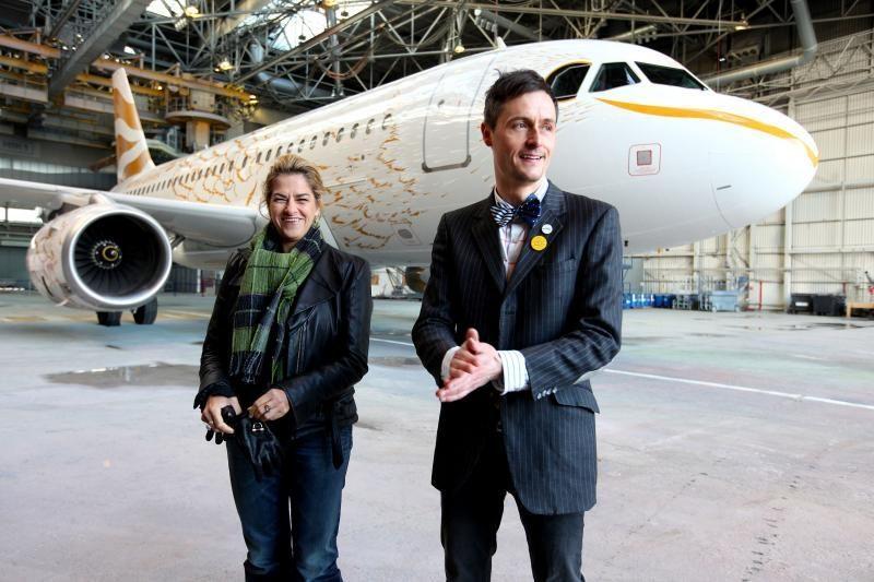 """""""British Airways"""" pristato ypatingai papuoštus lėktuvus olimpiadai"""