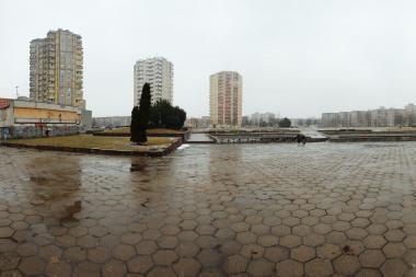 Prasidėjo Čečėnijos aikštės rekonstrukcija