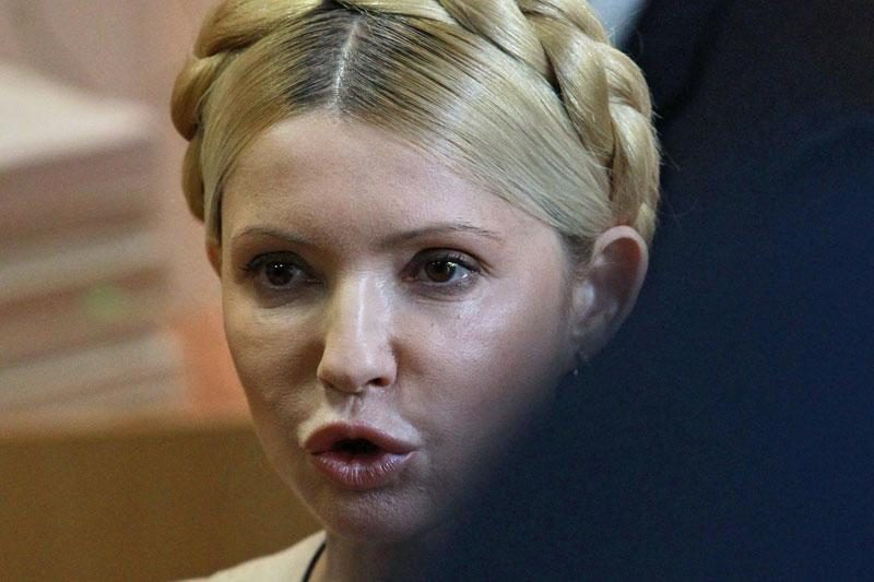 """Iš ligoninės išrašoma J.Tymošenko: """"Aplink mane virina naują narvą"""""""