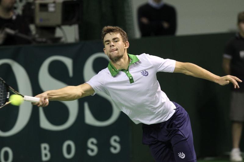 Laurynas Grigelis - teniso turnyro Prancūzijoje dvejetų nugalėtojas