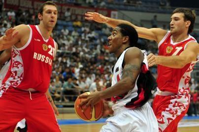 Rusijos krepšininkai pralaimėjo Angolai