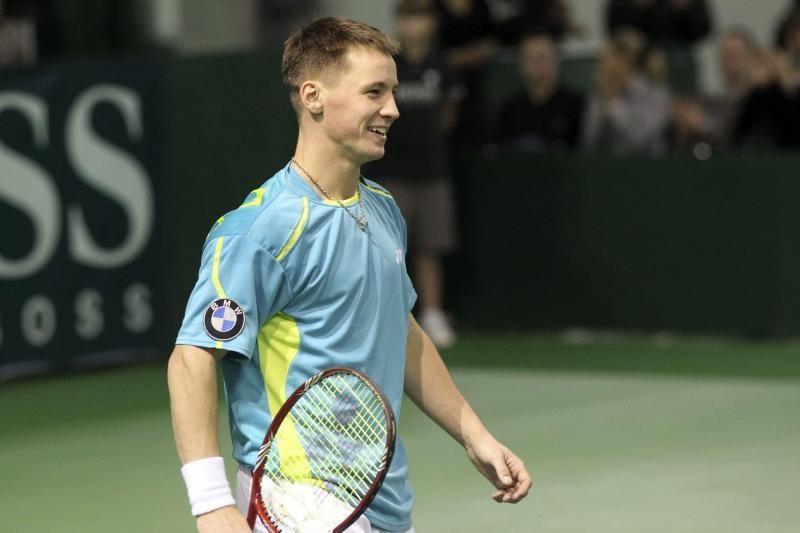 R.Berankis pergale pradėjo ATP serijos teniso turnyro varžybas