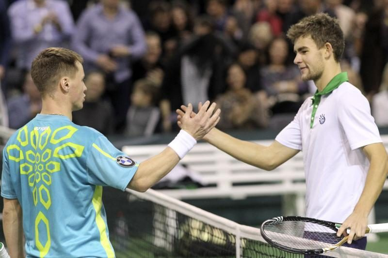 R.Berankį ir L.Grigelį ATP reitinge skiria tik 5 pozicijos