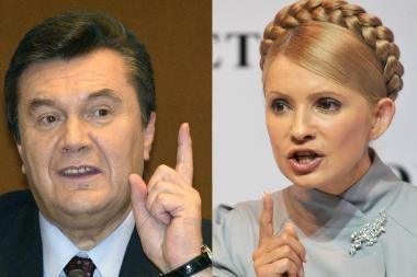 Ukrainos prezidento rinkimų varžovai telkia jėgas prieš lemiamą mūšį