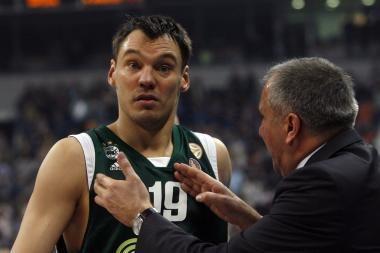 Š.Jasikevičius prie komandos pergalės pridėjo 14 taškų