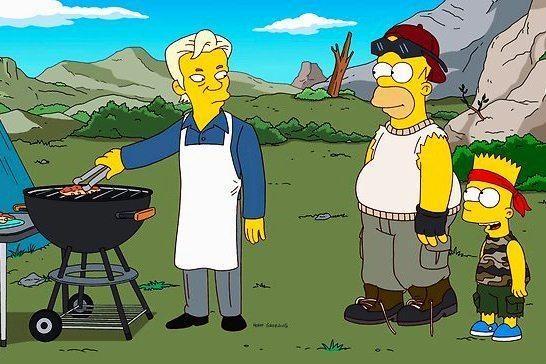 """""""Simpsonų"""" žvaigžde tapo """"WikiLeaks"""" įkūrėjas"""