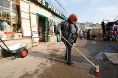 Policija vėl krėtė Vilniaus turgavietes