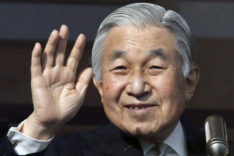 Japonijos imperatorius Akihito paguldytas į ligoninę tyrimams