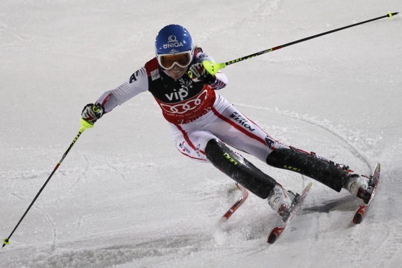 Austrė penktą kartą nugalėjo slalomo rungtyje