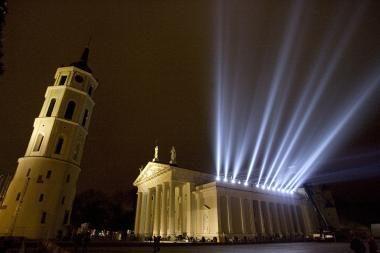 Naujuosius metus Vilniaus centre sutiko 200 tūkst. žmonių