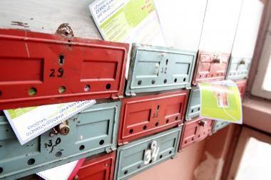 Pašto paslaugos vis mažiau populiarios