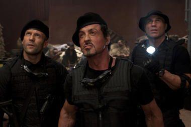 S.Stallone į filmavimo aikštelę įsileido ir žiūrovus
