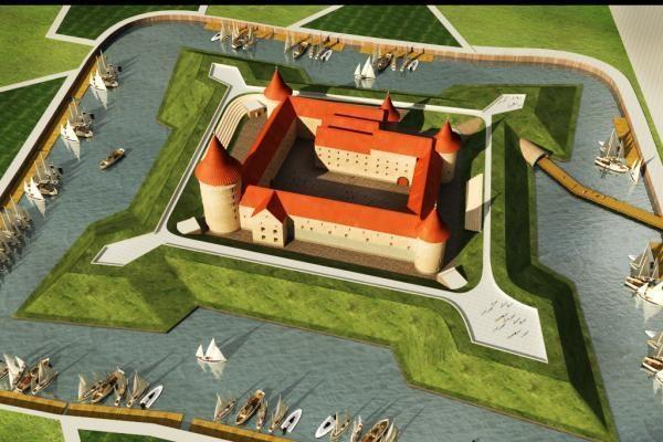 Seime – paroda apie Klaipėdos pilies viziją