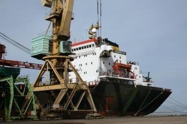 Klaipėdos uoste buvo sulaikytas ukrainiečių laivas