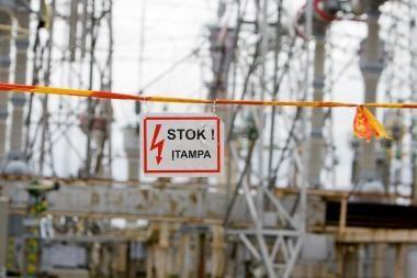 Atnaujintas tyrimas dėl elektros energijos grobstymo ypač stambiu mastu