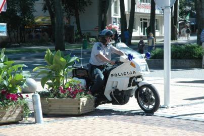 Gyventojai gerai vertina policijos darbą