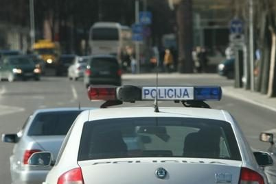 Policininko automobilis partrenkė pėsčiąjį