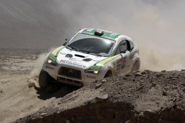 """""""Dakaro ralis"""": ilgiausias greičio ruožas jau įveiktas"""