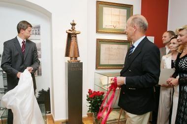 Muziejui padovanota Vytauto Didžiojo skulptūra