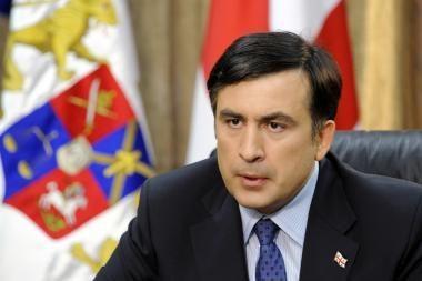 M.Saakašvilis prašo Europos Parlamentą suteikti Rusijai okupantės statusą