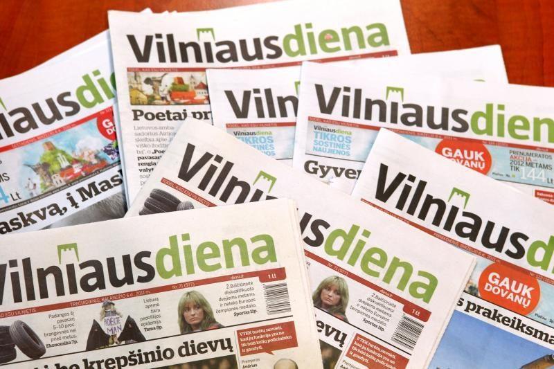 """""""Vilniaus diena"""" skelbia prenumeratos akciją"""