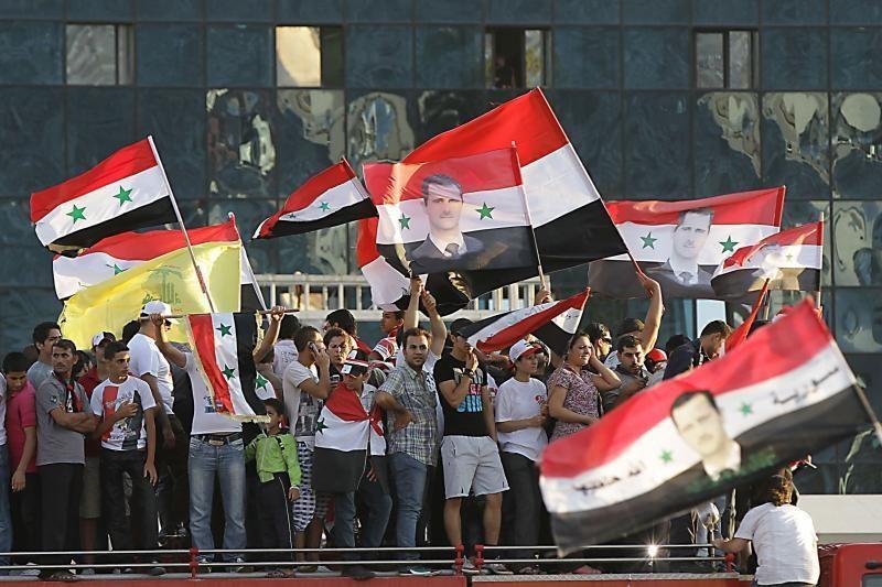 Rusija ir arabų šalys ragina nutraukti smurtą Sirijoje