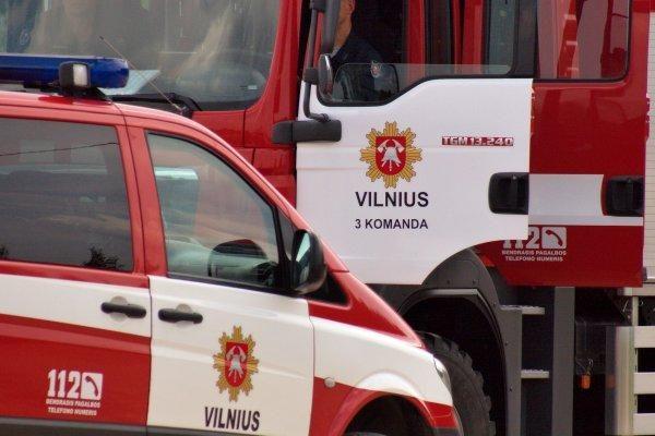 Vilniuje degė autobusas iš Palangos