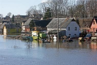 Potvynis įsisiautėjo ir Panevėžyje