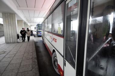 Vilniaus autobusų stotis virs parodų sale