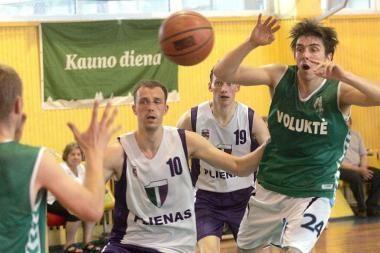 Kauno krepšinio mėgėjų lygoje – jau 150 komandų