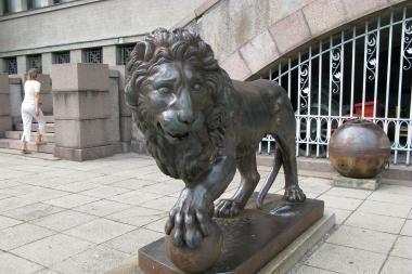 Muziejaus liūtai bus rekonstruoti (patikslinta)