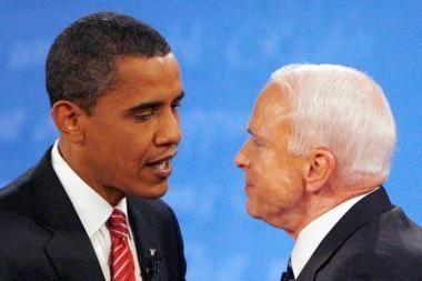 B.Obamos ir J.McCaino dvikova šokių aikštelėje (video)