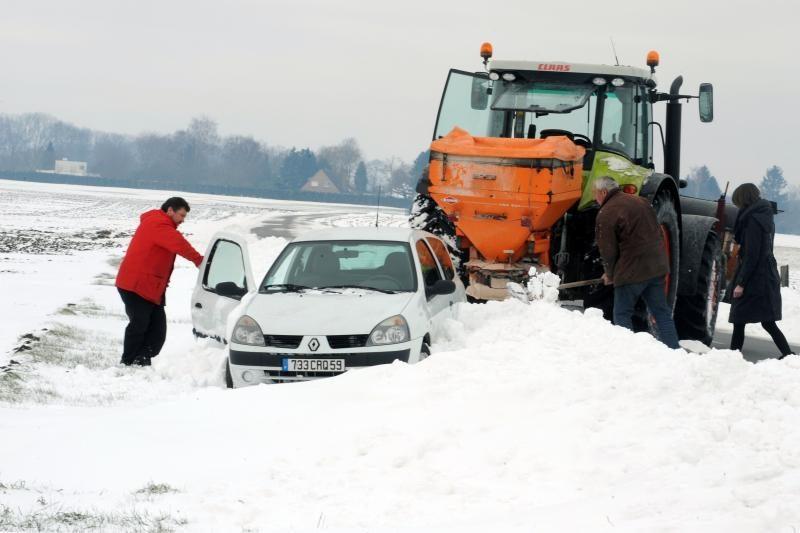 Lietuva pusnyse: Dūkšte prisnigo 41, Vilniuje - 34 cm sniego
