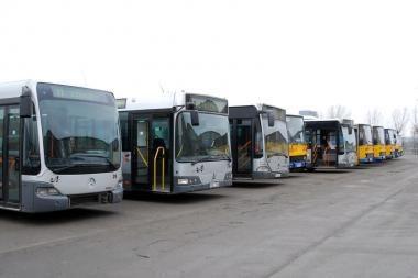 Prie sostinės autobusų vairo sėda mikroautobusų ir troleibusų vairuotojai