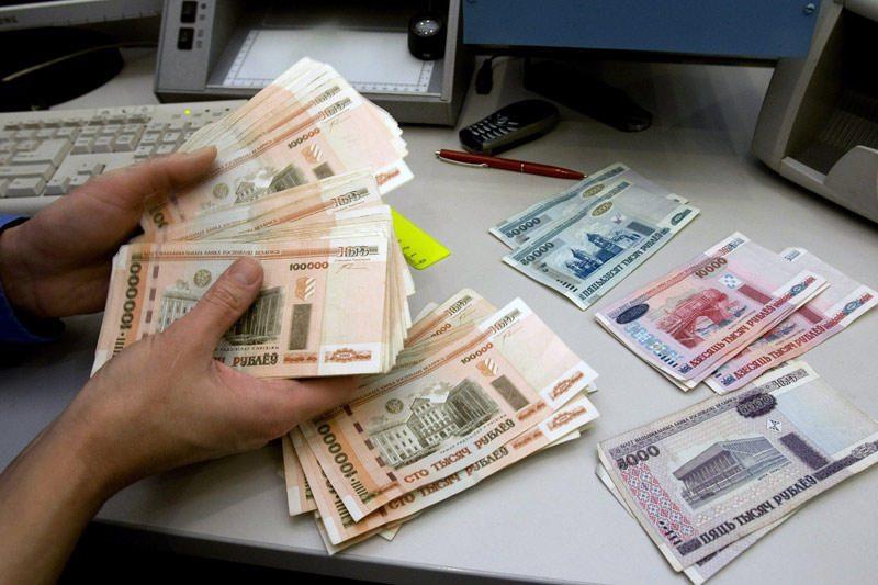 Baltarusijos pinigų keityklose nebeliko valiutos