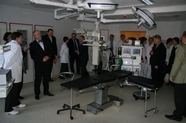 VU Vaikų ligoninėje atidarytos naujos operacinės