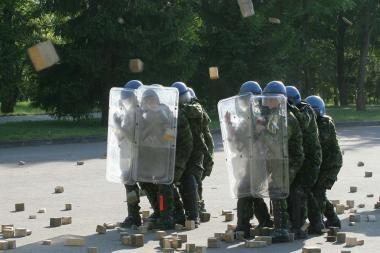 Lietuva nepajėgi apsiginti nuo karinės agresijos